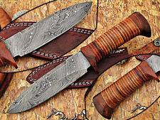 Custom made Moqen,s Damascus steel Special Dagger knife