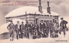 GAMBARIE DI S. STEFANO DI ASPROMONTE - La casa cantoniera coperta di neve 1934