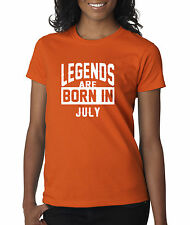 New Way 660 - Women's T-Shirt Legends Are Born In July Cancer Leo