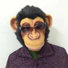 Halloween Party 1 Pcs Monkey Mask Funny Adult Animal Costume Head Fancy Dress bo