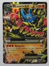 Mega Lucario ex - 55/111 XY Furious Fists - Ultra Rare Pokemon Card