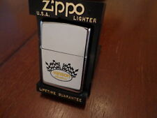VANSON LEATHERS MOTORCYCLE GOODS ZIPPO LIGHTER MINT IN BOX 1999 SALESMAN SAMPLE