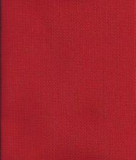 1 PZ rosso cotone aida 14 KT 32x45cm