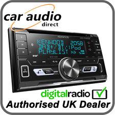 Kenwood DPX-7100DAB Double Din Bluetooth Car Stereo DAB Radio CD MP3 USB Aerial
