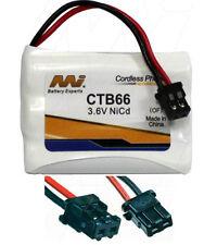 CTB66 Panasonic KX-TC1231 KX-TC1232 KX-TC1238 KX-TC1245 Cordless Phone Batt NiCd