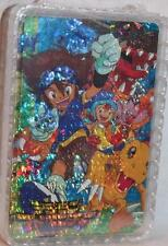 DIGIMON Anime Deck of Playing Cards with Charectors on Cards FOIL Version 1 MIP