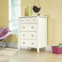 Dresser Chest Drawer Cabinet Clothes Storage Organizer Bedroom Furniture White