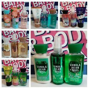 Bath & Body Works Travel Size 3-pc Set - Body lotion or cream, mist & shower gel