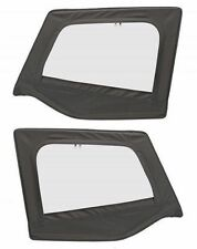 1988-1995 Jeep Wrangler Replacement Upper Door Skins Driver & Passenger Black D