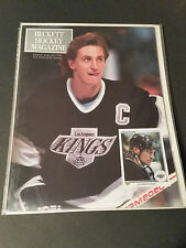 WAYNE GRETZKY BECKETT HOCKEY CARD MAGAZINE NUMBER 1 ISSUE