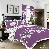 Richmond Frilled Duvet Cover with Pillowcase Poly cotton Bedding Set Double King