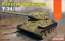 Dragon 1/72 7564 WWII German Panzerkampfwagen T-34/85 Medium Tank