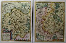 Thuringiae-Misniae et Lusatiae - Thüringen und Meissen von Abraham Ortelius 1579