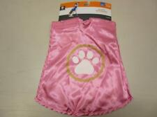 Pet Costume Superhero Cape Halloween Costume Dog Size M/L New Pink 3 piece