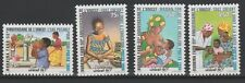 Burkina Faso 1996 Mi. 1443 - 1446 UNICEF 50 years Children United Nations UN RAR