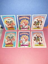 6 Pack Fresh Mint 1986 OS4 GPK Lot 3 Pairs W/ Bony Tony
