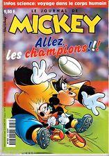LE JOURNAL DE MICKEY n°2468 ¤ 1999 ¤ AVEC CADEAU CP FURBY + SPORTY MAG n°3