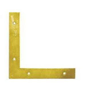 HEAVY DUTY Flat Corner Brace 150x150x25mm Angle Bracket Support L Shape NA1