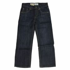 Levi's 505 Straight Leg Regular Fit Jeans for Boys - Adjustable Waistband 12