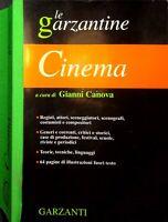 Le Garzantine CINEMA a cura di Gianna Canova edizioni Garzanti 2002