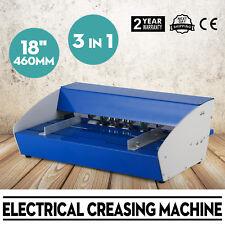 3 In 1 460mm Cordonatrice Perforatrice Elettrica Printing Perforazione Carte