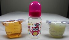 Reborn Bottle Fake Formula Milk & Apple Juice Baby OOAK Girl Doll Who's Sweet ?