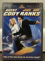 Agent Cody Banks (DVD, 2003, Special Edition Widescreen  / Full Frame)