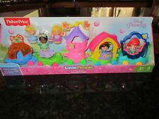 Fisher Price Little People Disney Princess Ariel parade float 5 pack Snow white