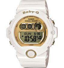 Casio Baby-G Digital Female White/Gold Wrist Watch BG6901-7 BG-6901-7DR