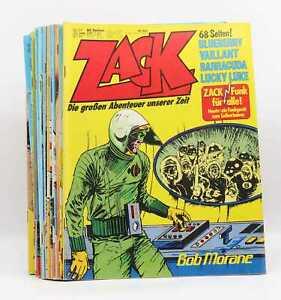 Auswahl: Koralle Verlag Zack Magazin 1976-1979 - oft mit Beilage
