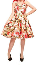 Womens Rockabilly Swing Pinup Retro Dress Rock 'n' Roll Retro