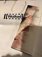 WOLFORD BODYCULTURE Delicate Lace Stocking Belt Bridal Ivory Medium 61895 -12