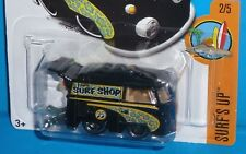 2017 HOT WHEELS Volkswagen Kool Kombi VW Moon Eyes Col. #302 Black Surf's Up