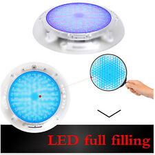 RGB Multi-color 252 LED Resin injected Swimming pool Lights 16modes underwater