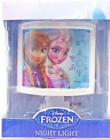 Disney Frozen Elsa Anna Girls Nighlight New