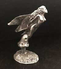 Pewter Fairy Fairies Wings Mystical Magical Girl Angel Metal Figurine M