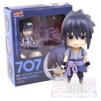 Naruto Shippuden Uchiha Sasuke 707 Nendoroid Action Figure Collectible Model Toy