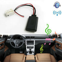 Car 12Pin Bluetooth Adapter Aux Cable  For Peugeot 207 307 407 Citroen C2 C3 RD4