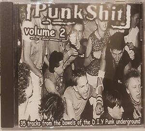 "V/A - ""Punk S--t Vol 2 "" CDLP - 35 tracks of UK Street Punk and Oi Bands"
