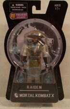 "Mortal Kombat X - Previews Exclusive Variant Raiden 6"" Figure Mezco (MOC)"