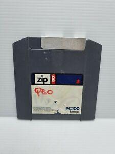 100 MB Iomega Zip Disk.