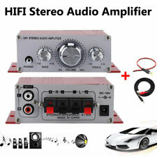 12V Mini Hi-Fi Stereo Amplifier Small Amplifier For Car Motorcycle Radio MP3 DVD