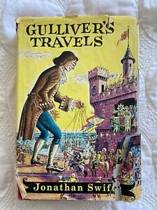 1954 Gulliver's Travels Book by Jonathan Swift