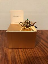 Estee Lauder Pleasures Holiday 2007 Little Teapot Limited Solid Perfume Compact