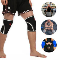 A Pair Knee Leg Support Sleeve for CrossFit - Squats Weight lifting Powerlifting