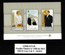 B F de GIBRALTAR n° 1496 de 2012 Neuf très bon état identique à la photo