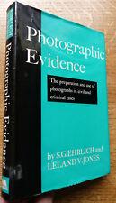 Photographic Evidence 1967 Civil & Criminal Cases Ehrlich & Jones H/B 150 Photo'