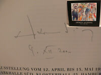 Armin Sandig Maler Katalog Original signiert autograph Signatur Autogramm