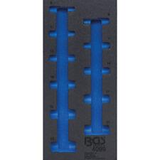 """Werkstattwageneinlage 1/3 leer für 10,0 mm (3/8"""") Steckschlüssel-Satz Art. 4099"""