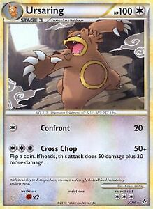 Ursaring - 27/95 Rare HS Unleashed Pokemon Card